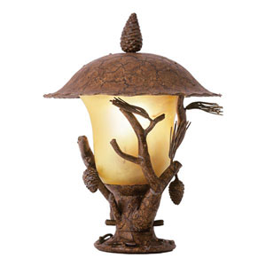 Ponderosa Large Outdoor Post Mount Lantern