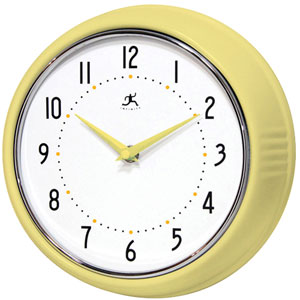 Retro Aurora Wall Clock