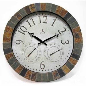 The Inca Indoor/Outdoor Wall Clock