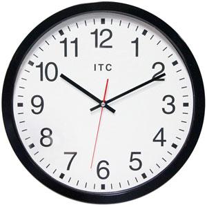 Black Cornhill Wall Clock