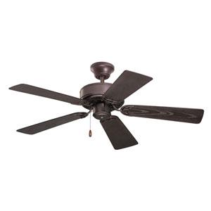 Oil Rubbed Bronze 42-Inch Summer Night Ceiling Fan