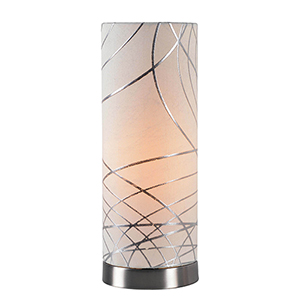 Circo Brushed Steel One-Light Accent Lamp