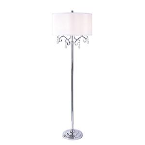 Shop Crystal Arc Floor Lamp Bellacor