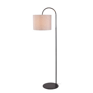 Gloria Bronze One-Light Shaded Floor Lamp