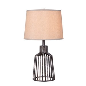 Coop Vintage Metal One-Light Accent Lamp