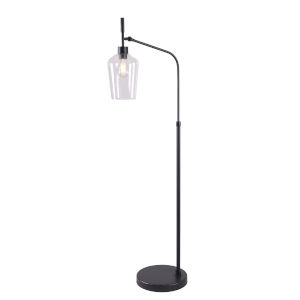Mateo Bronze One-Light Shaded Floor Lamp