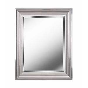 Lyonesse Chrome 30-Inch  Wall Mirror