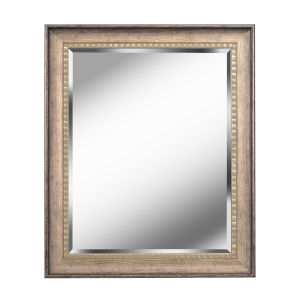 Amiens Antiqued Gold 36-Inch Wall Mirror