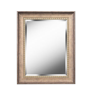 Amiens Antiqued Gold 24-Inch Wall Mirror