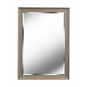 Laredo Brushed Champagne 42-Inch Wall Mirror
