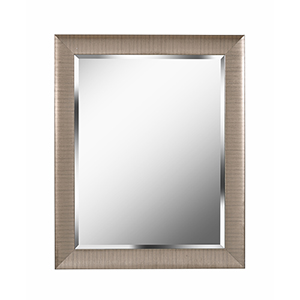 Laredo Brushed Champagne 32-Inch Wall Mirror