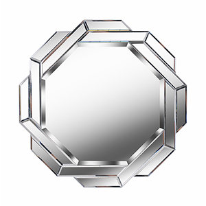 Junction Glass Small Wall Mirror