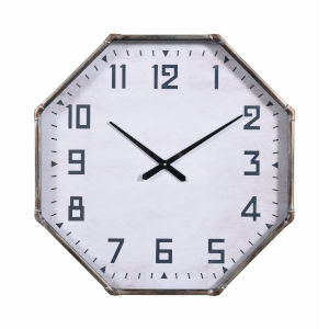 Steam Fitter Vintage Metal Wall Mounted Clock