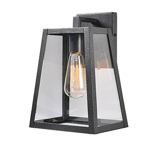 Fiely Sandy Black One-Light Medium Wall Lantern