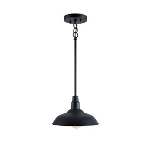 Dale Black One-Light Pendant