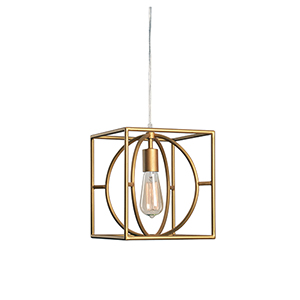 Adele Gold One-Light Mini Pendant