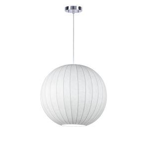Hover White One-Light Pendant