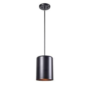 Porter Black One-Light Mini Pendant