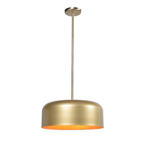 Porter Antique Brass and Gold Two-Light Pendant