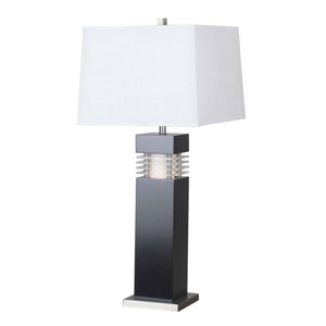 Wyatt Black Table Lamp