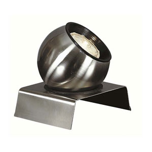 Spot Brushed Steel Spotlight
