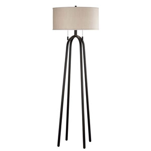 Quadratic Oil Rubbed Bronze Floor Lamp