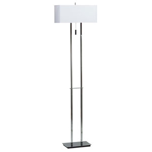 Emilio Chrome Floor Lamp