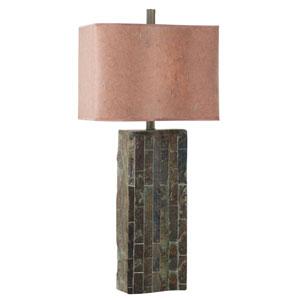 Ripple Natural Slate Table Lamp