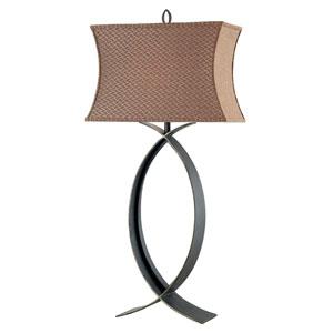 Pisces Oxidized Bronze Table Lamp