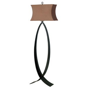 Pisces Oxidized Bronze Floor Lamp