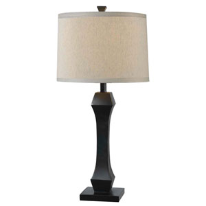 Gemini Oil Rubbed Bronze Two Pack Table Lamp