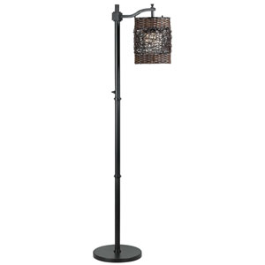 Brent Oil Rubbed Bronze Outdoor Floor Lamp