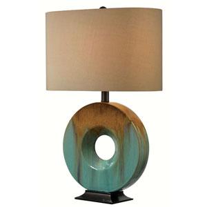 Sesame Ceramic Glaze Table Lamp