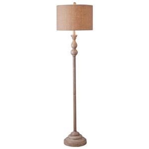 Bennett Toasted Almond Floor Lamp