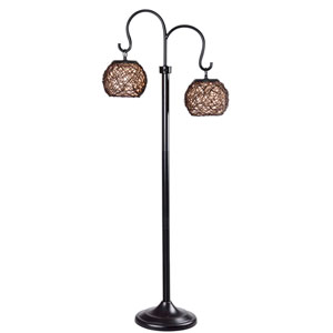 Castillo Bronze Outdoor Floor Lamp