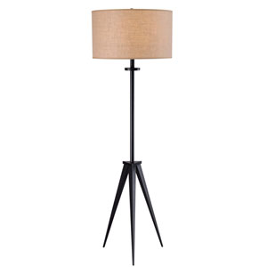 Foster Oil Rubbed Bronze One Light Floor Lamp