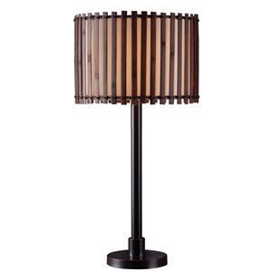 Bora Bronze One Light Outdoor Table Lamp