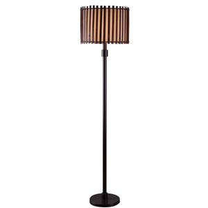 Bora Bronze One Light Outdoor Floor Lamp