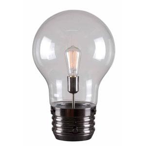 Edison Antique Brass One-Light Table Lamp