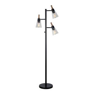 Cindy Oil Rubbed Bronze 17-Inch Three-Light Tree Lamp