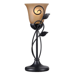 Arbor Oil Rubbed Bronze One-Light Table Torchiere