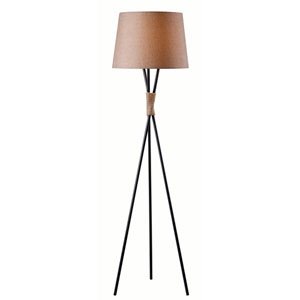 Trio Bronze One-Light Floor Lamp