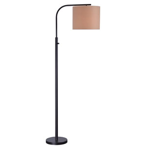 Bridgeton Bronze One-Light Arc Floor Lamp