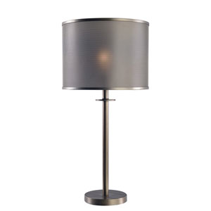 Grater Graphite One-Light Table Lamp
