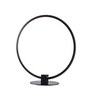 Aurora Black 14-Inch LED Table Lamp