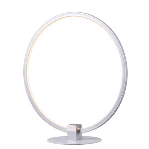 Aurora White LED Table Lamp