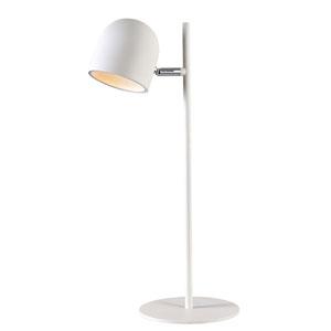 Vidal White LED Desk Lamp