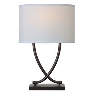 Valerie Graphite One-Light Table Lamp