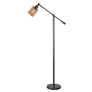 Thornton Warm Bronze One-Light Floor Lamp