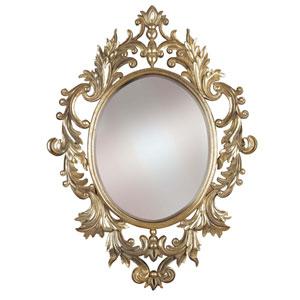 Louis Silver Leaf Wall Mirror